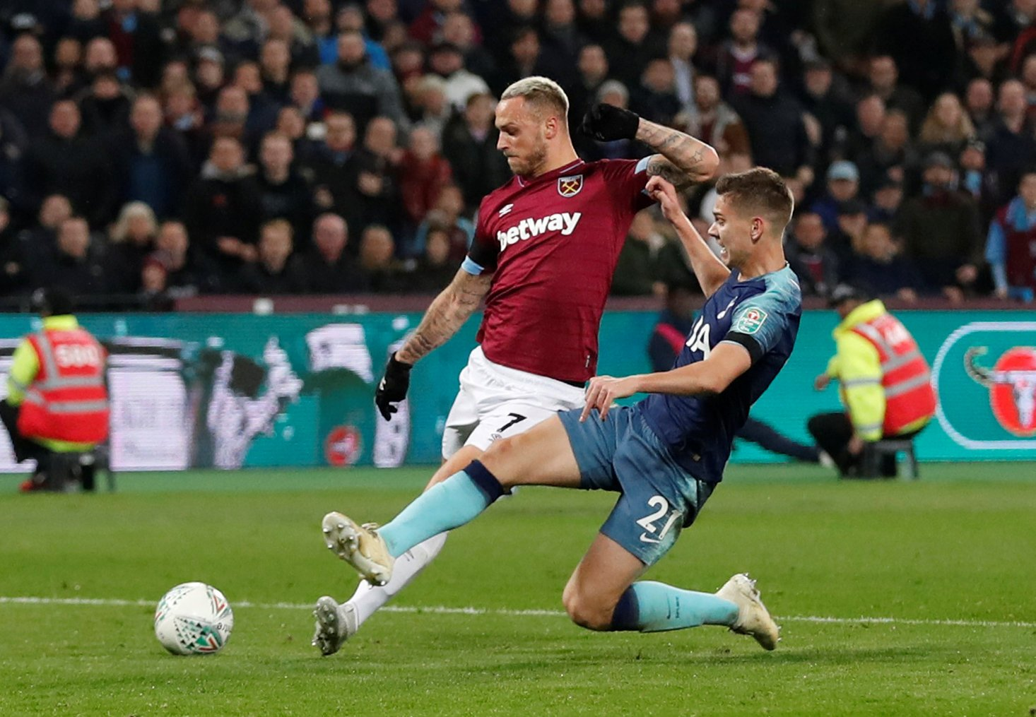 Marko Arnautovic could be about to hand West Ham significant boost