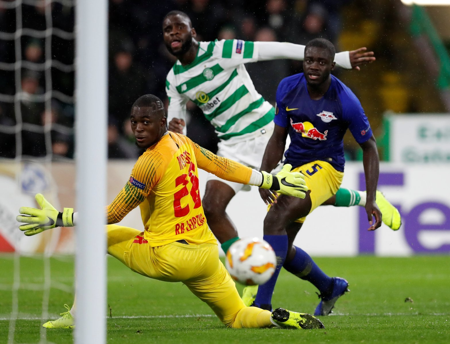 Celtic fans are full of praise after Odsonne Edouard's latest message