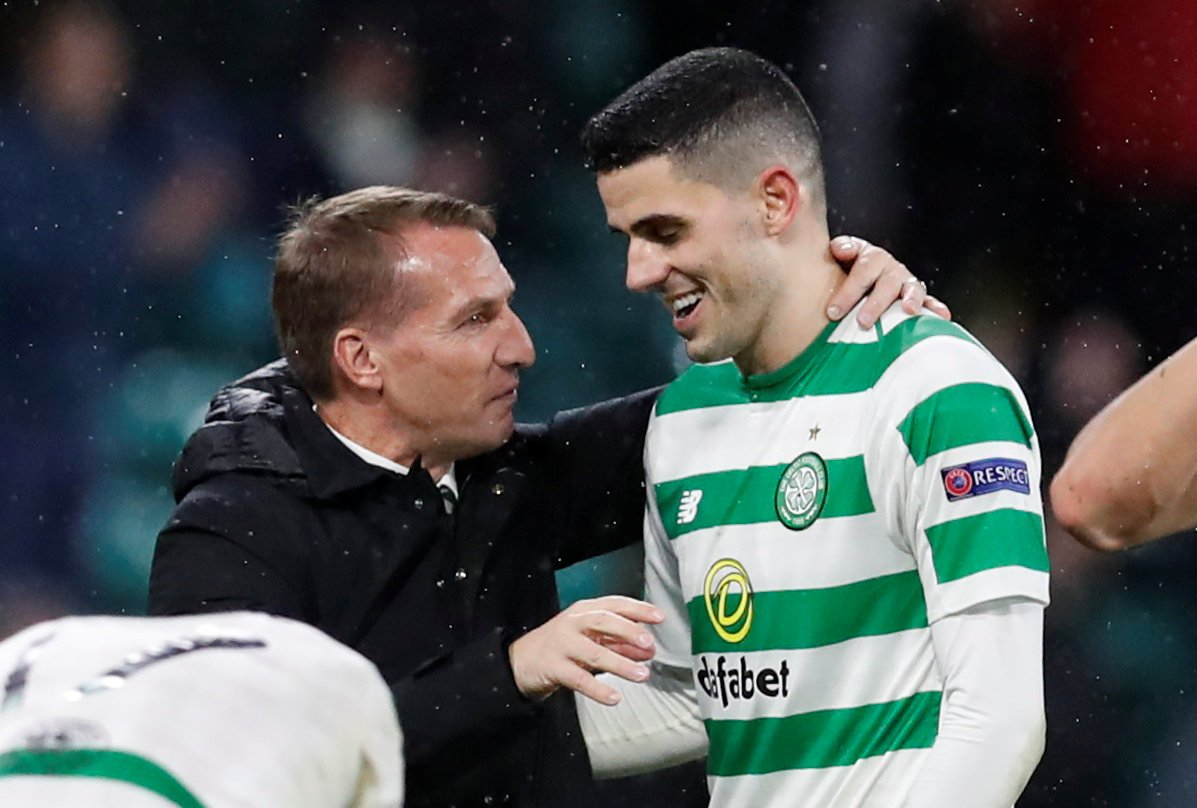 These Celtic fans destroy Tom Rogic for display vs RB Salzburg