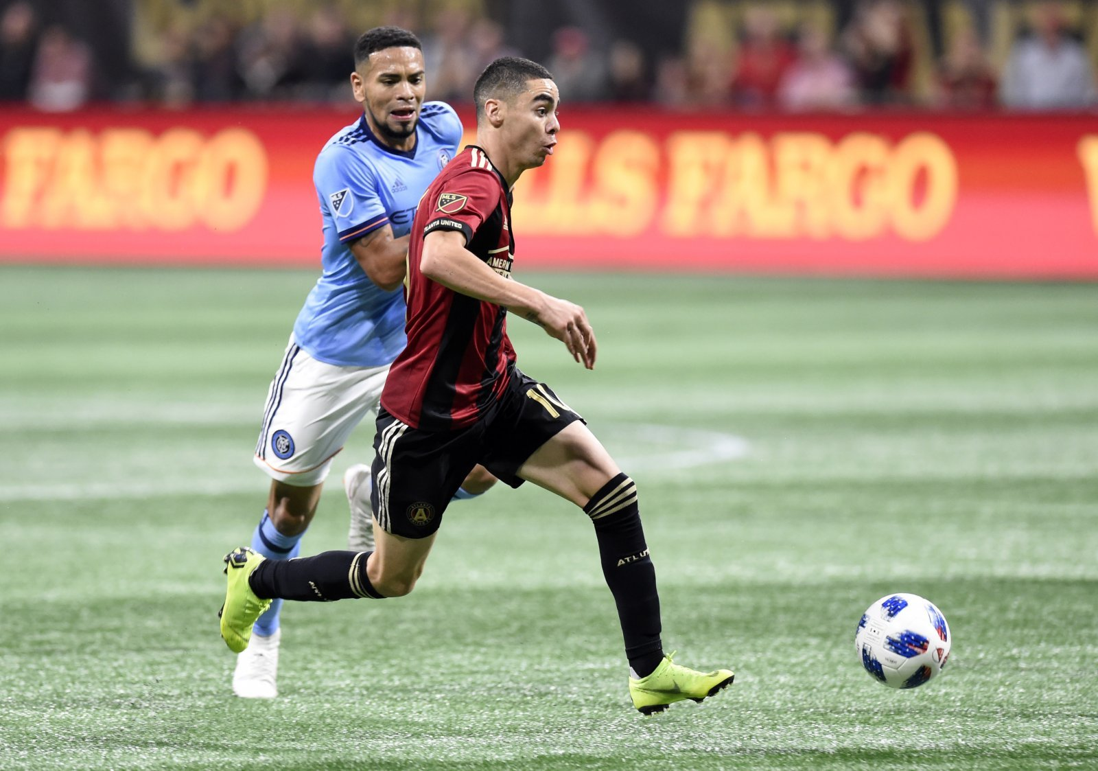 Miguel Almiron to Newcastle is a 'done deal'