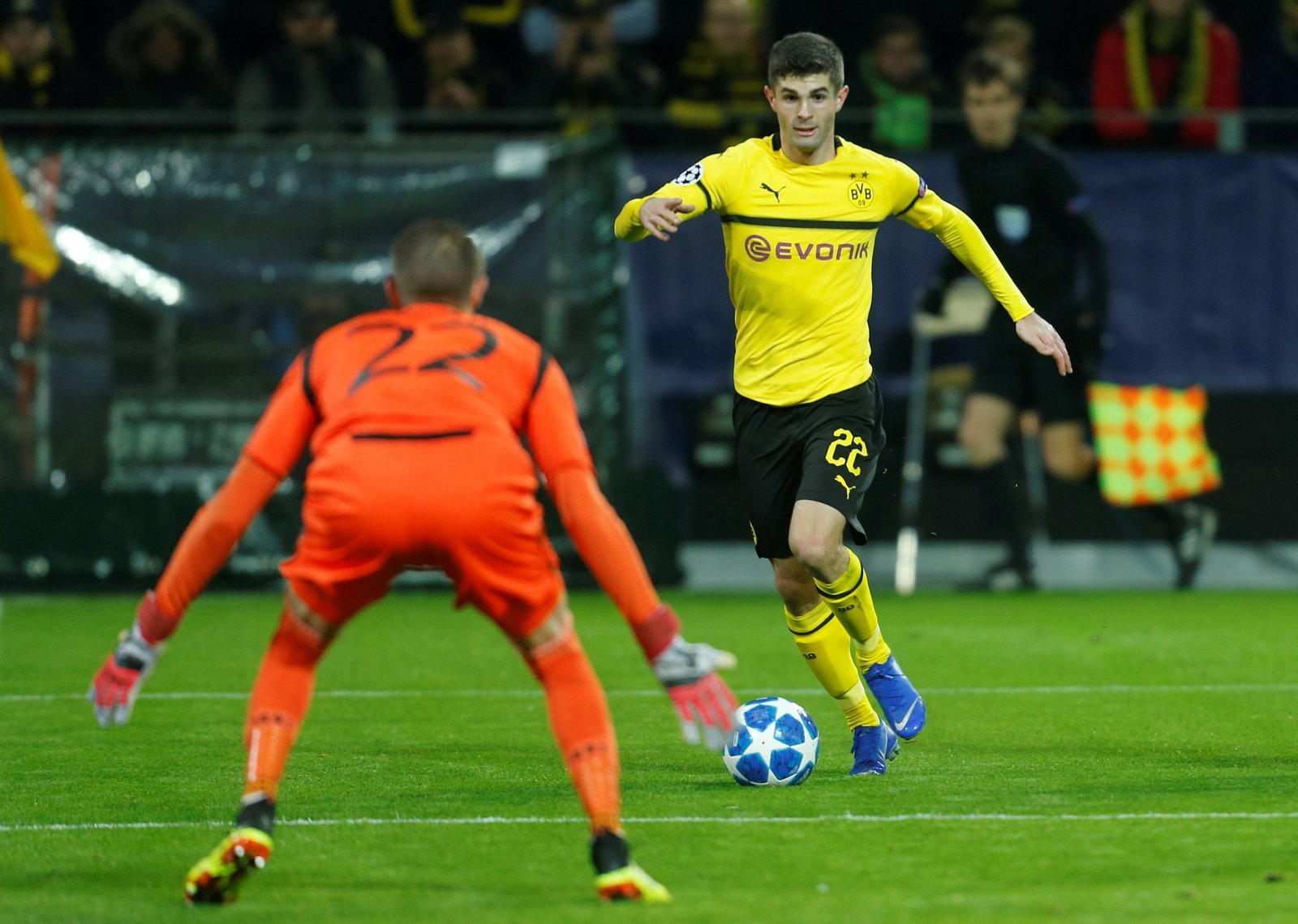 Christian Pulisic wants to join Chelsea