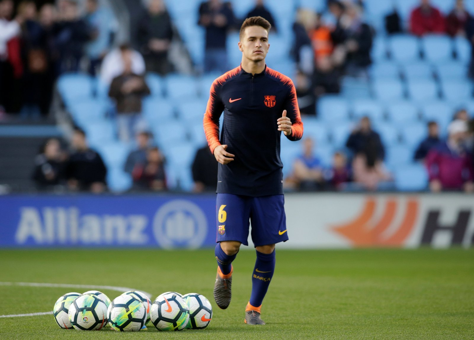 Denis Suarez and Unai Emery could work together well at Arsenal