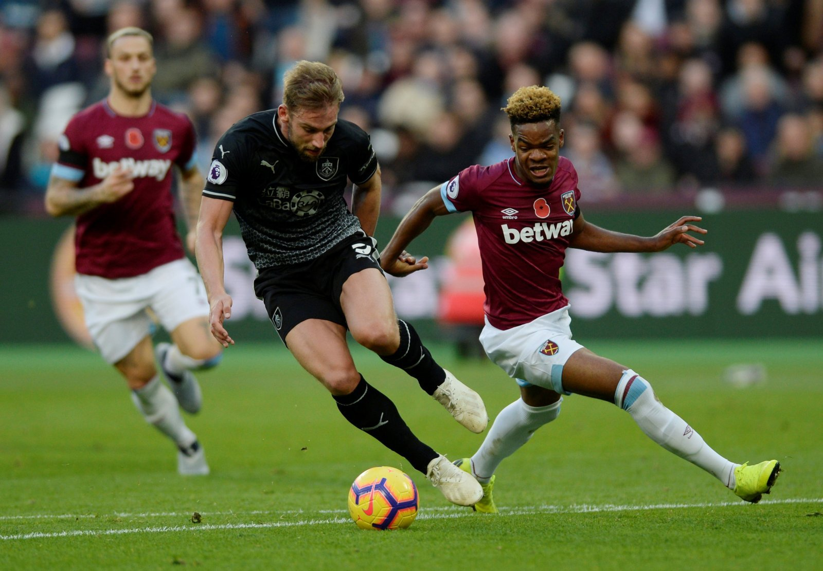 Grady Diangana was West Ham's unsung hero in Burnley victory