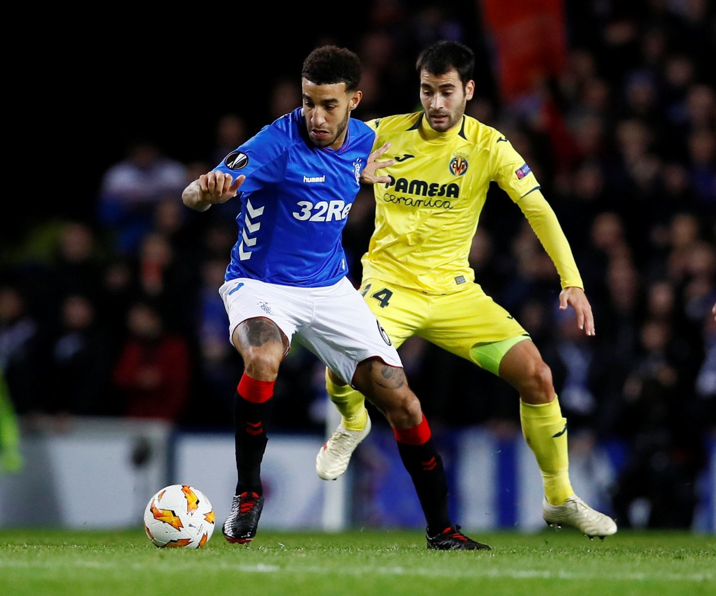 Rangers fans take to Twitter to slam Goldson after costly penalty