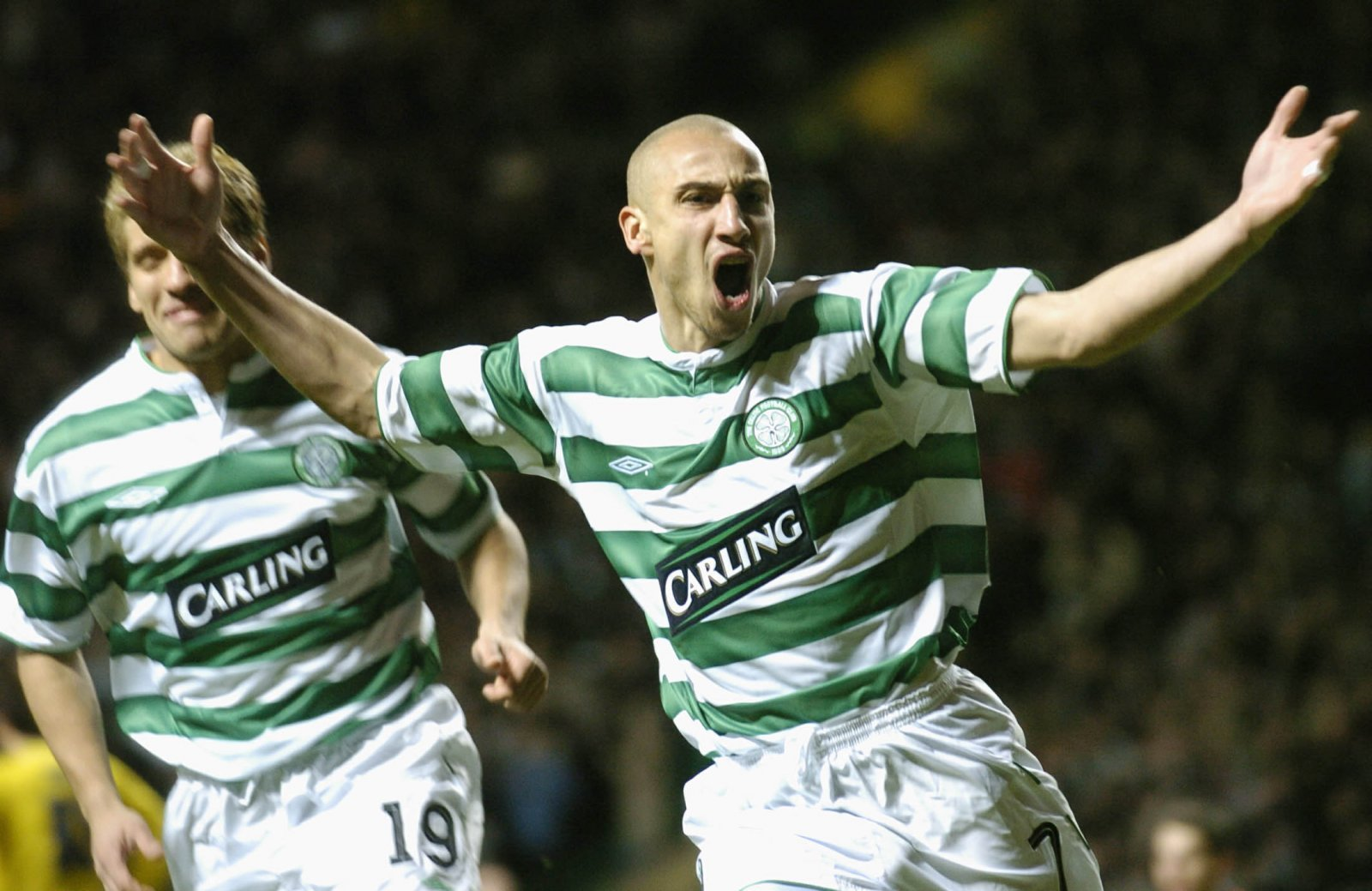 Celtic: Fans react to Henrik Larsson's appearance at Southend game