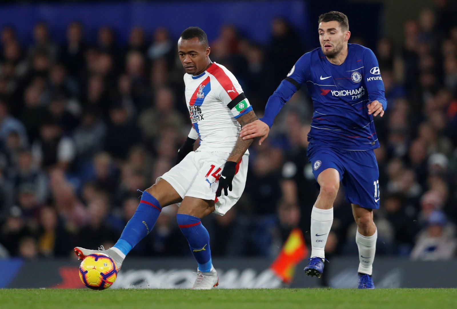 Crystal Palace: Jordan Ayew closing in on permanent move