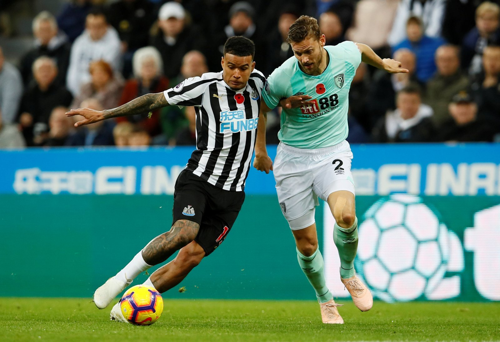 Newcastle surely won't get a better chance to land Kenedy permanently