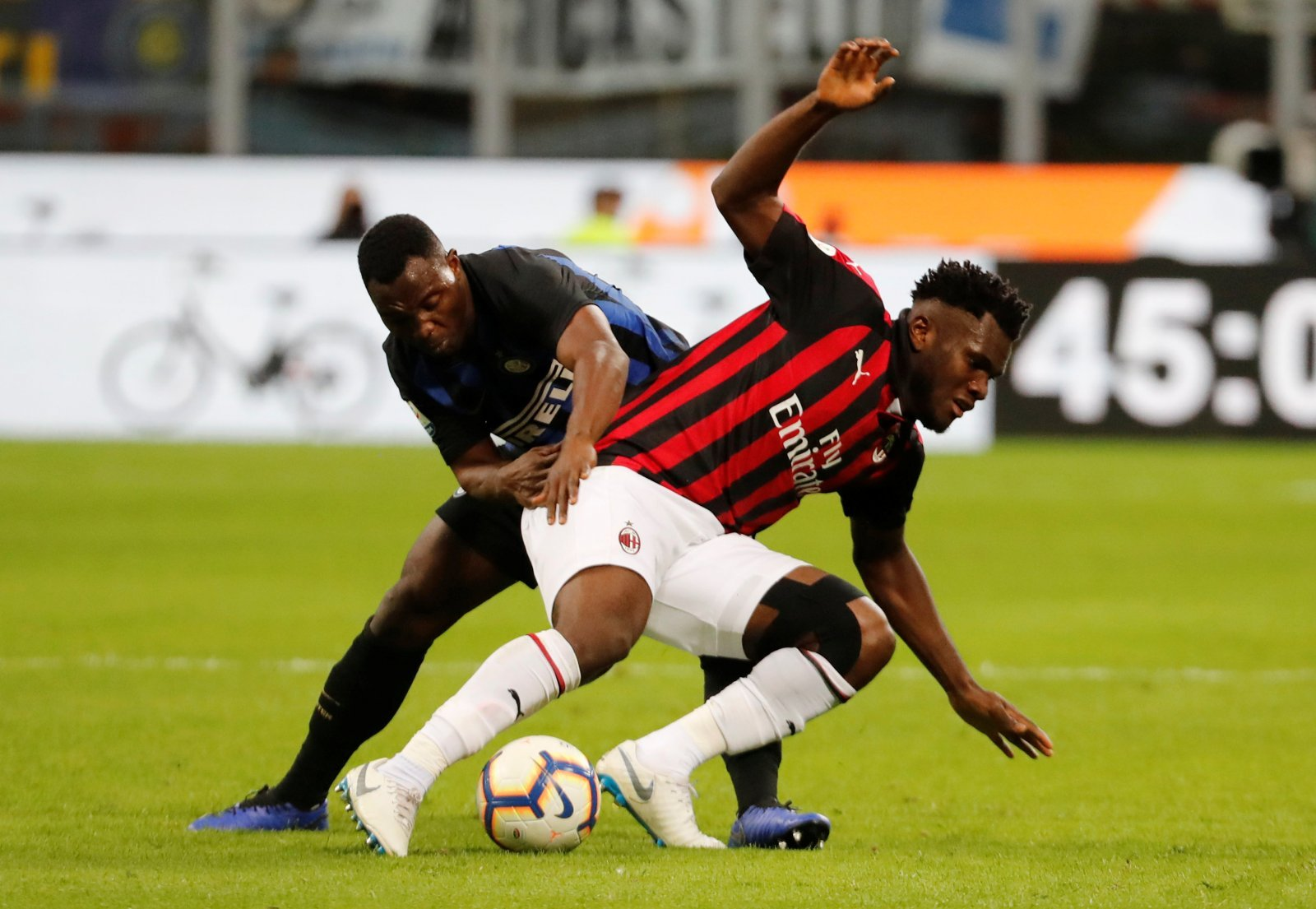 Franck Kessie would be a big signing to strengthen Arsenal's core