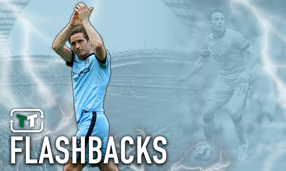 Flashback: Frank Lampard scores against Chelsea