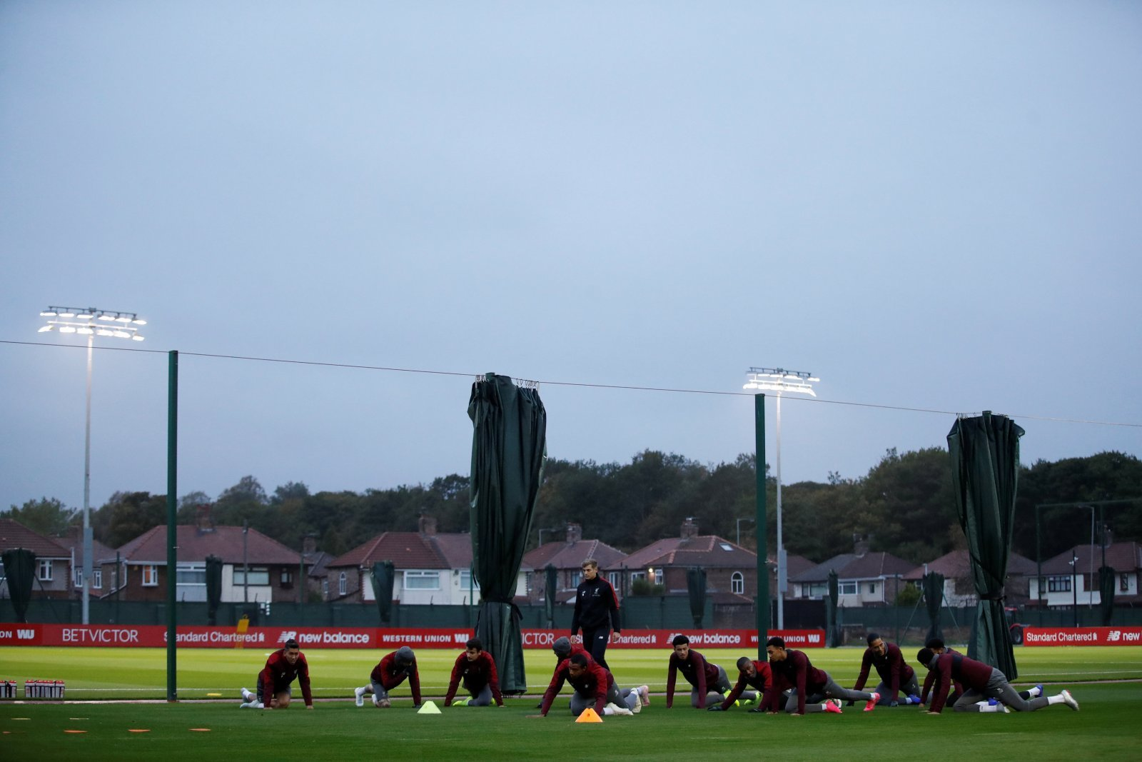 Liverpool fans react to training photos posted on Twitter
