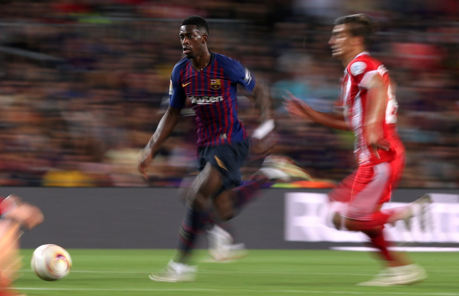 Nelson Semedo states that Ousmane Dembele is fully committed to Barcelona