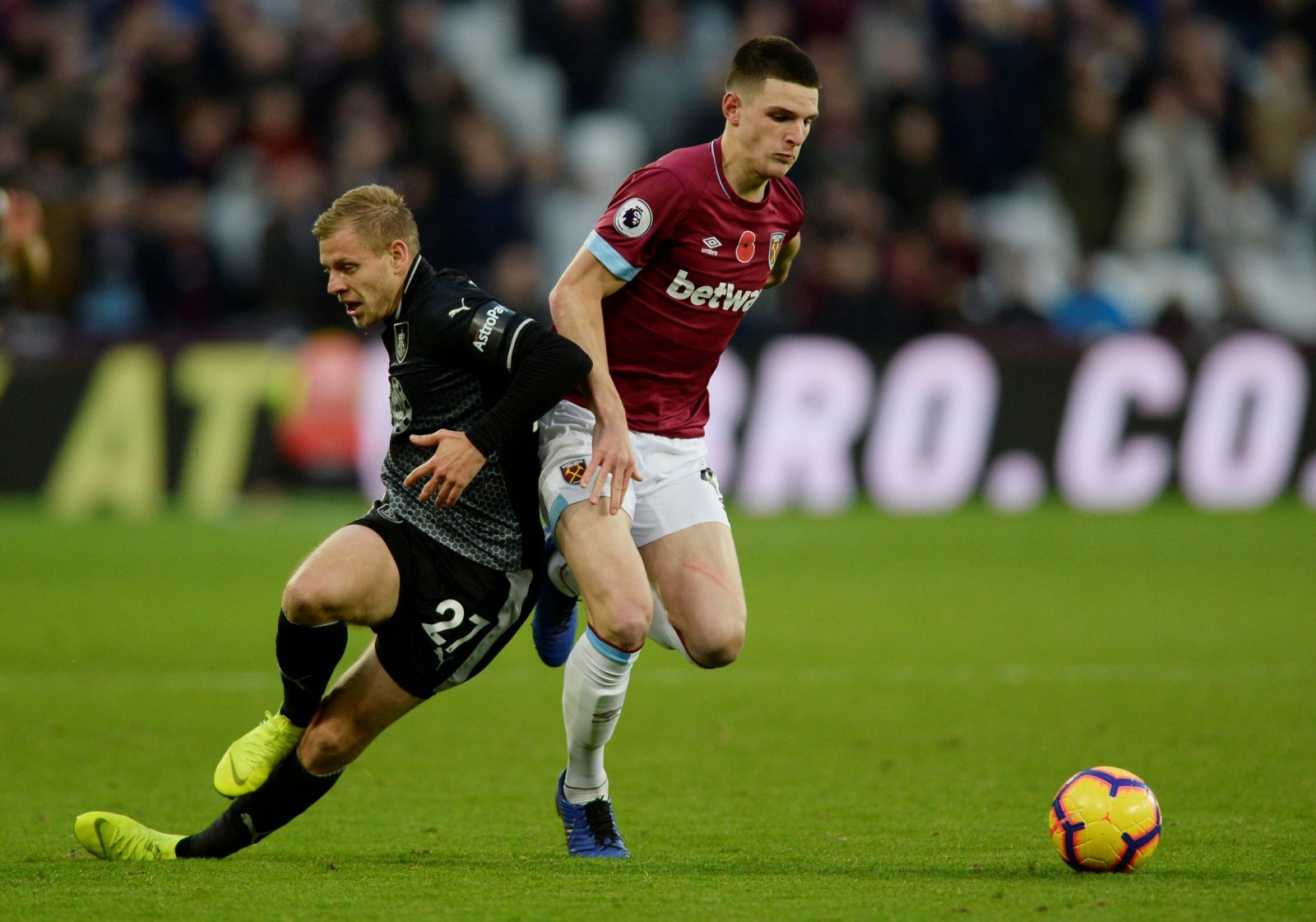 Declan Rice wants to sign new West Ham deal
