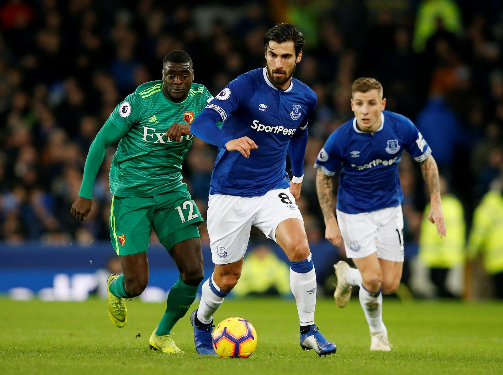 Losing Andre Gomes to Tottenham would underline just how far behind Everton really are