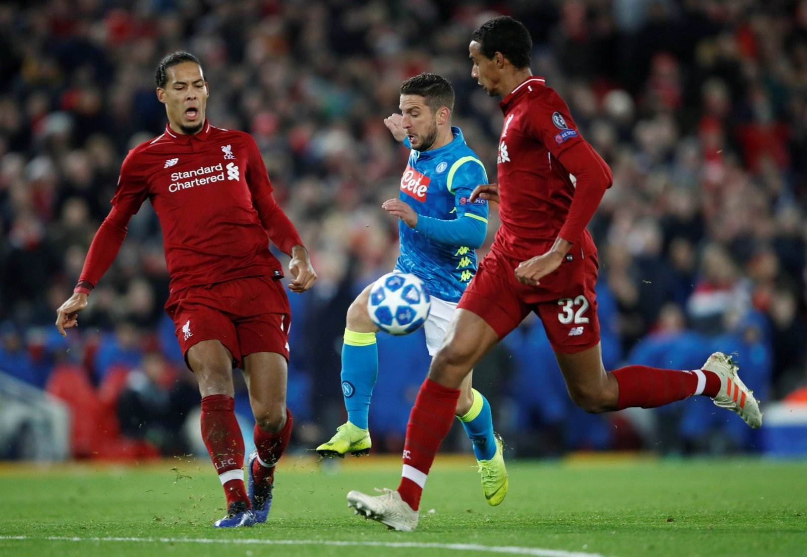 These Liverpool fans were in awe of Joel Matip last night