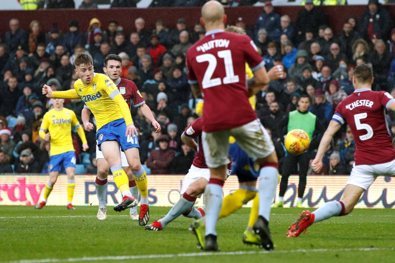 Leeds could lose Jack Clarke this winter