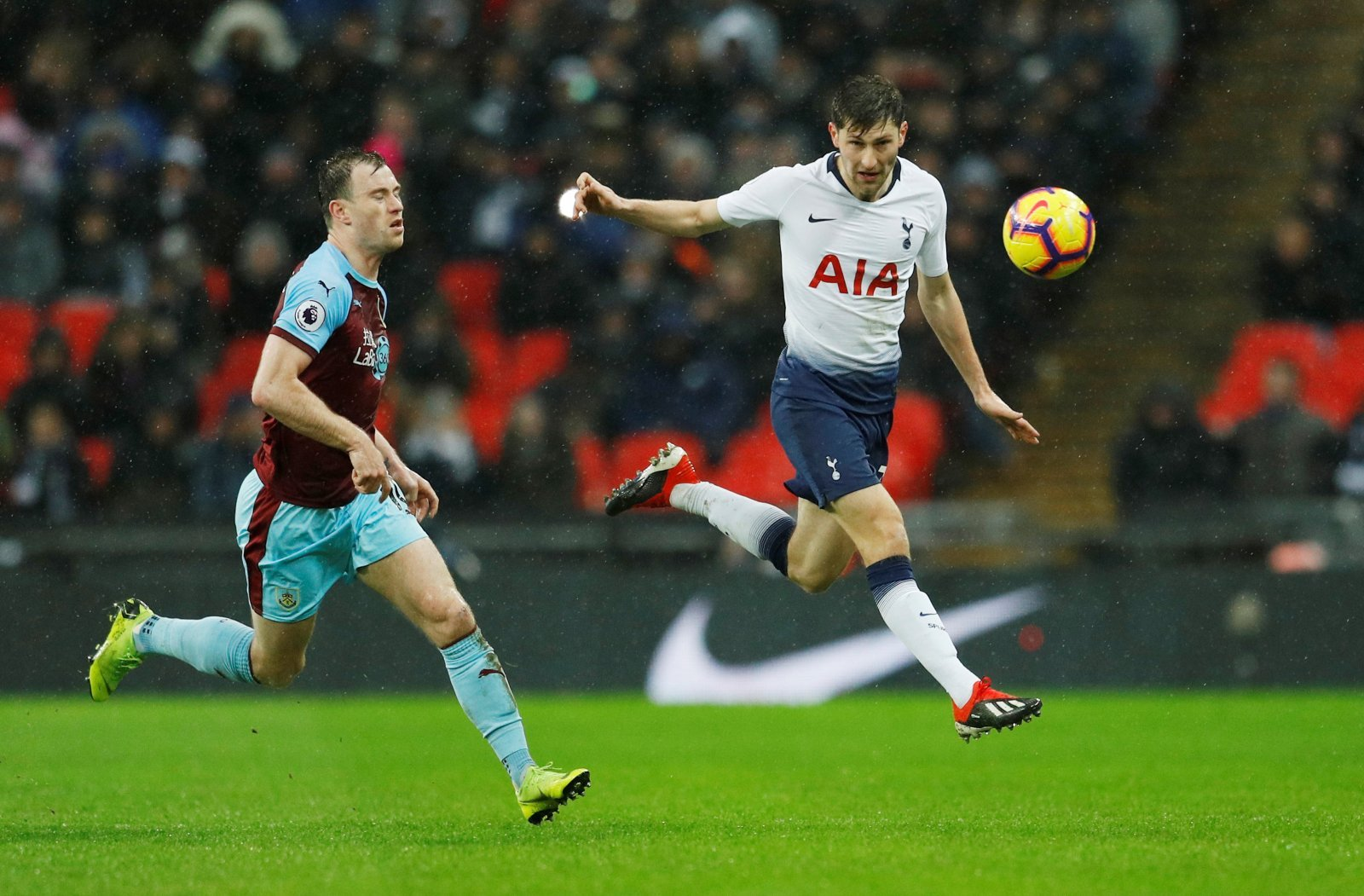 Tottenham fans have been taking to Twitter to laud sublime Ben Davies