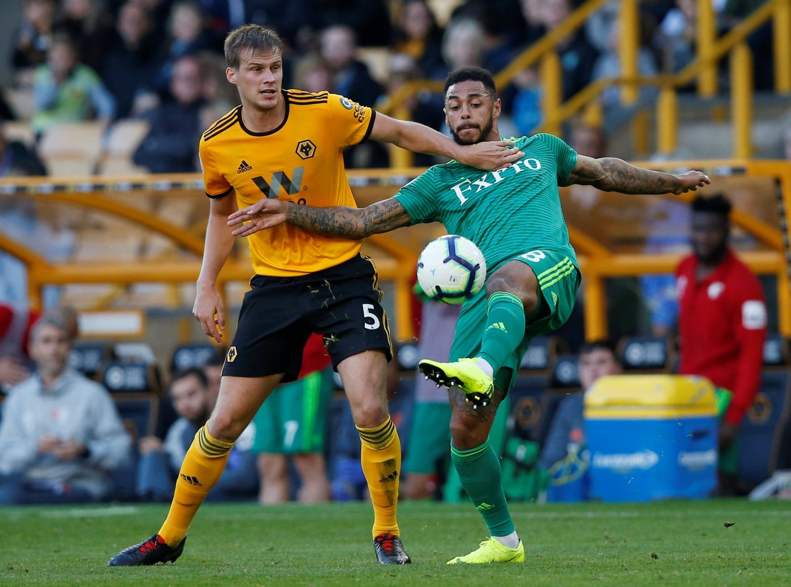 Wolves: Ryan Bennett ruled out of trip to Arsenal