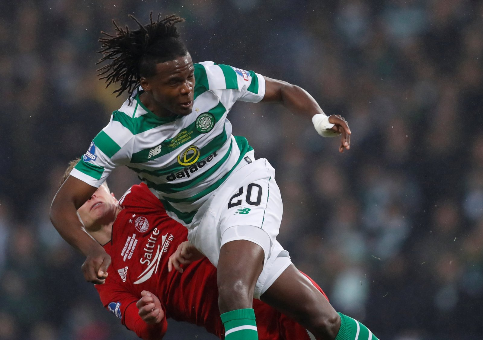 Celtic fans take to Twitter to point out key change in Boyata