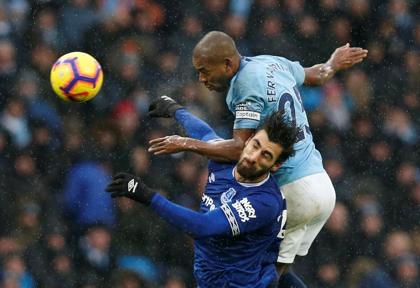 Fernandinho was Man City's unsung hero in victory over Everton