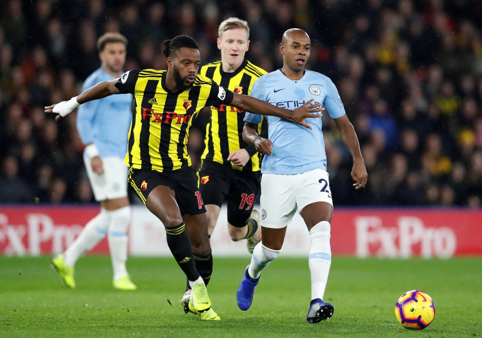 Fernandinho was Man City's unsung hero in victory at Watford