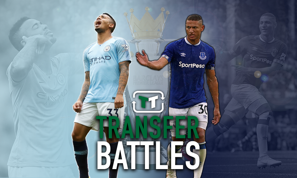 TT Battle: Gabriel Jesus vs Richarlison