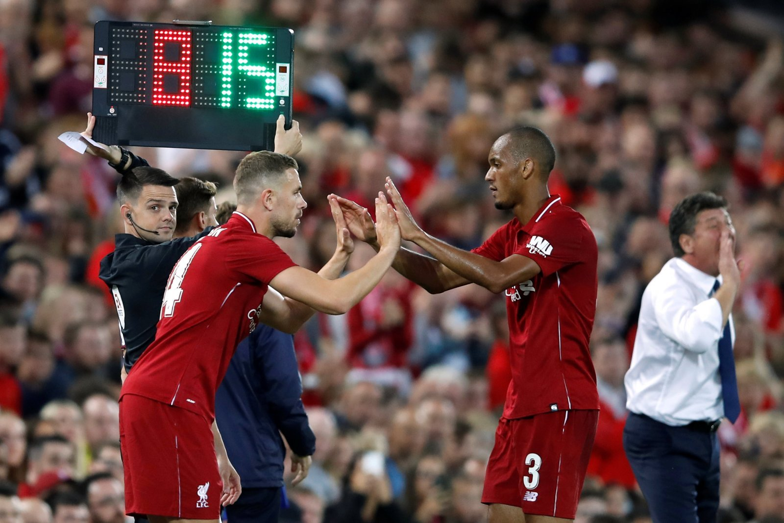 Fabinho is heading in the right direction after impressive display in Manchester United triumph