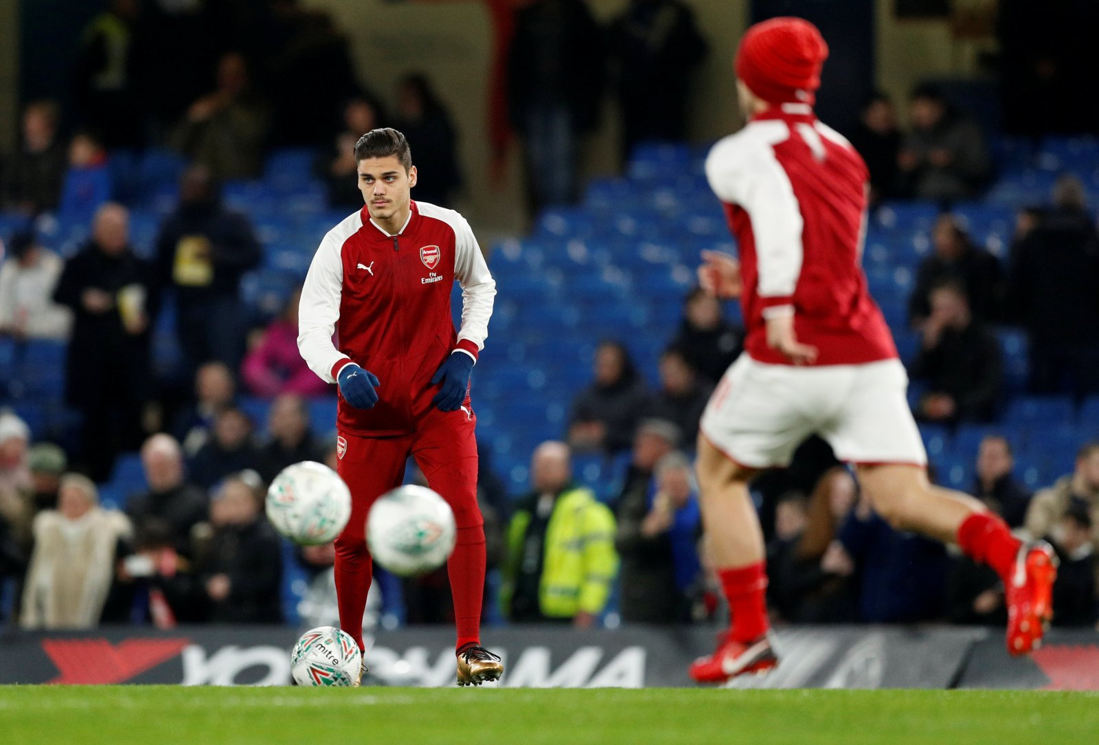 Arsenal: Konstantinos Mavropanos set to be sidelined for up to eight weeks