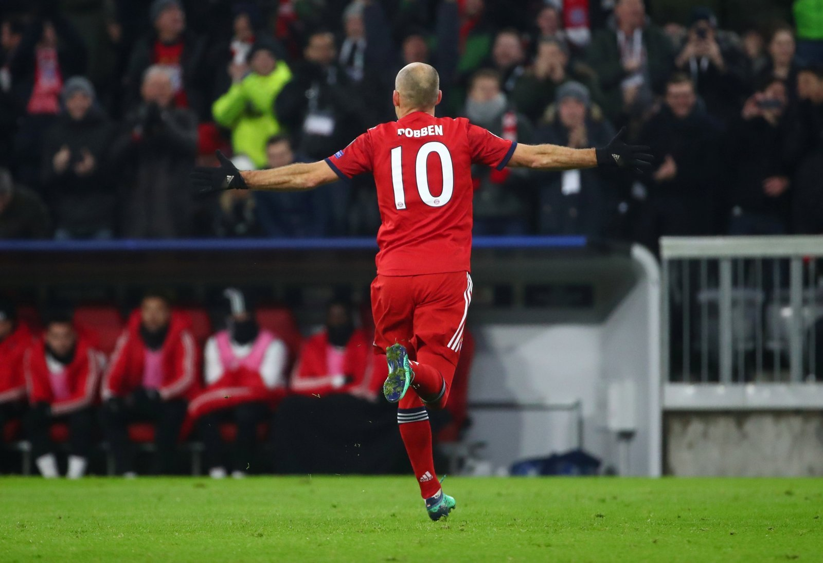Arjen Robben unlikely to play for Bayern Munich against Liverpool
