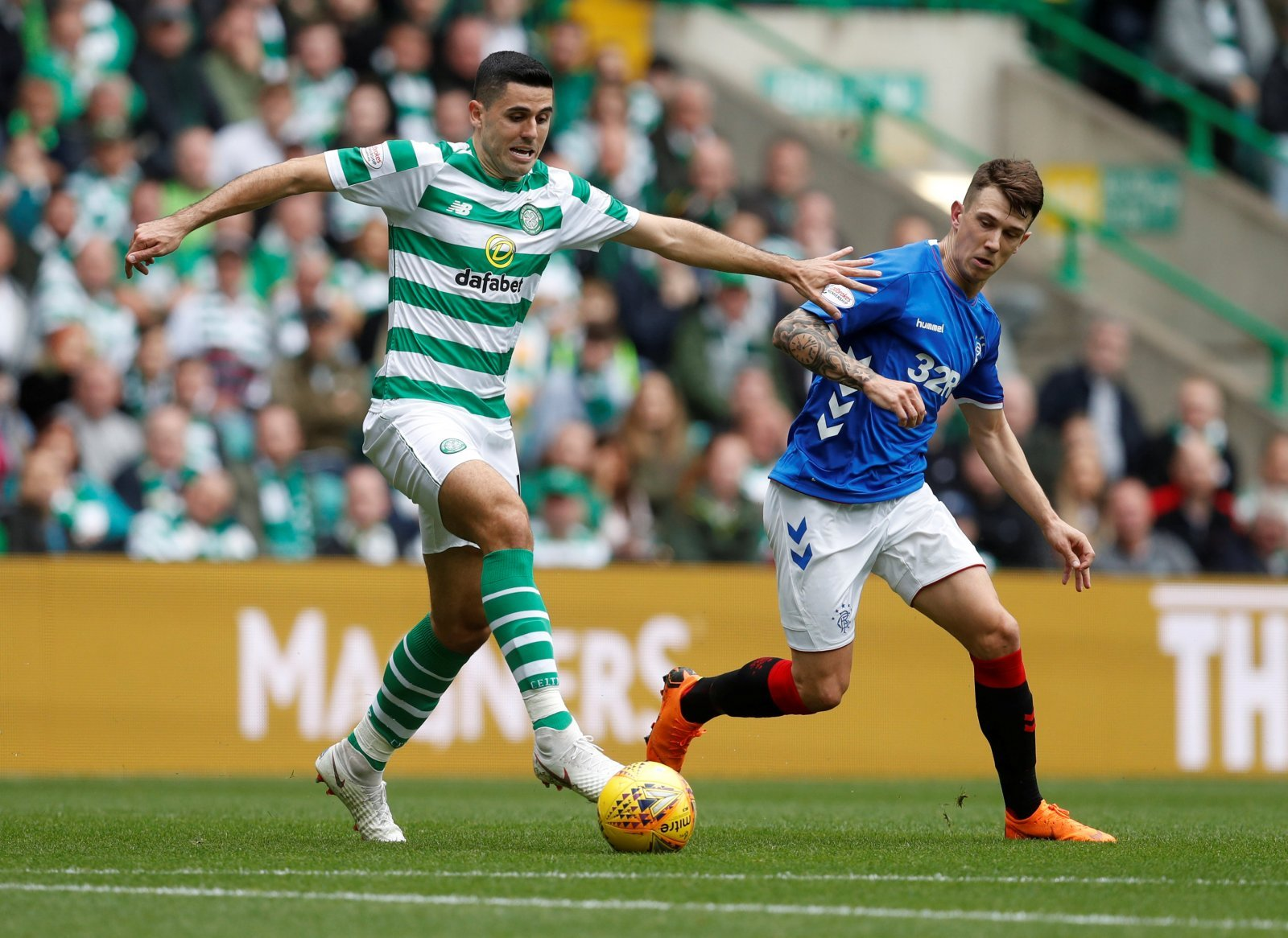 Celtic: Tom Rogic returns to training for Hoops