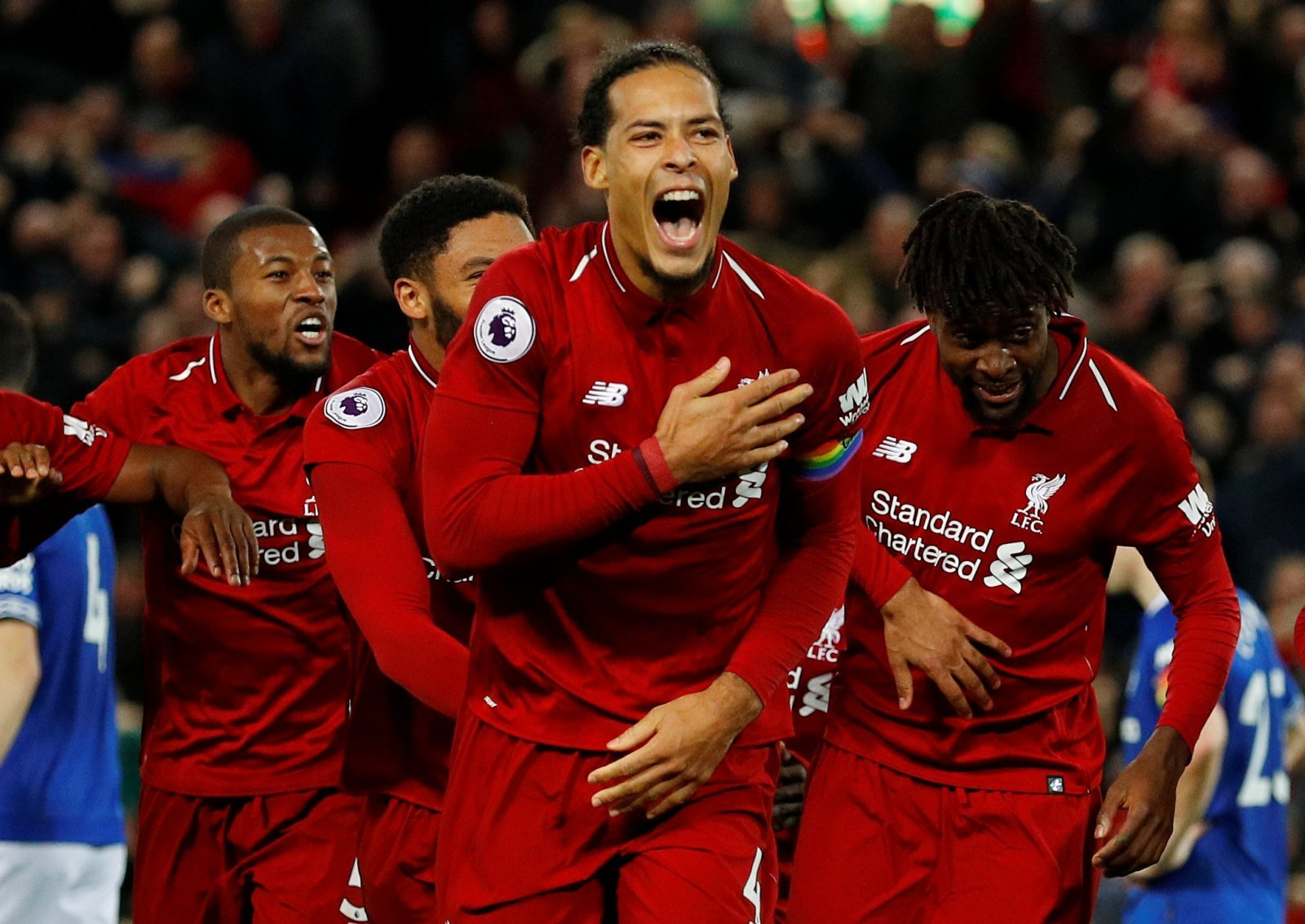Virgil van Dijk was Liverpool's unsung hero in victory at Burnley