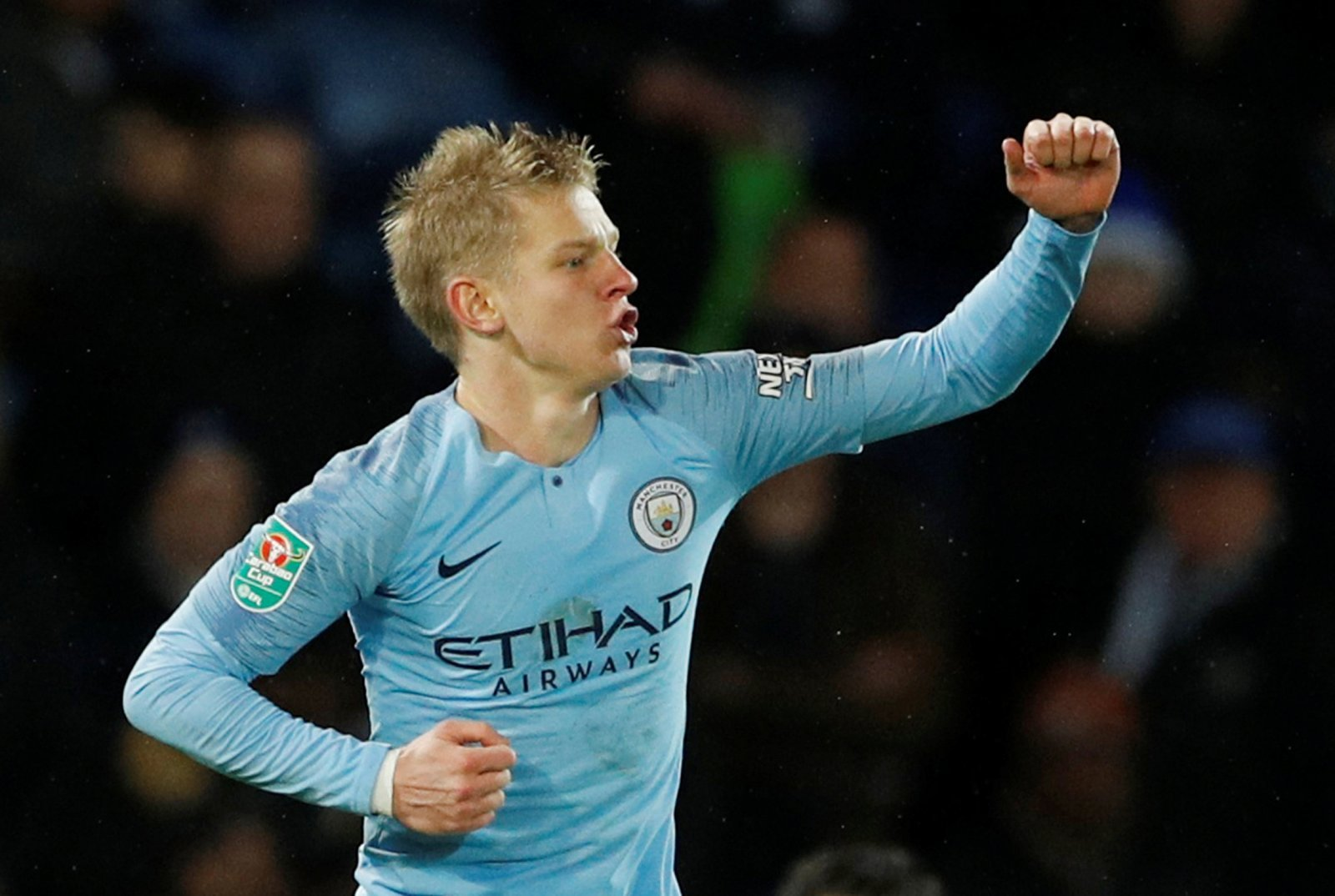 Manchester City: Fans react to Oleksandr Zinchenko scoring for Ukraine