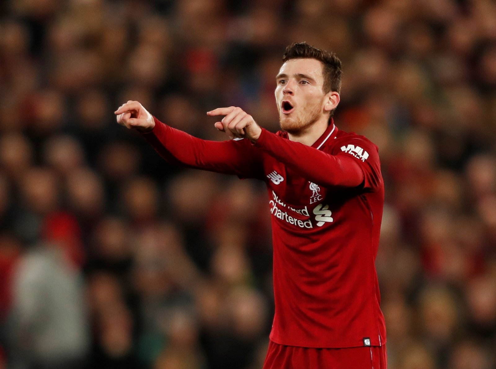 Andy Robertson needs some serious rewarding at Liverpool