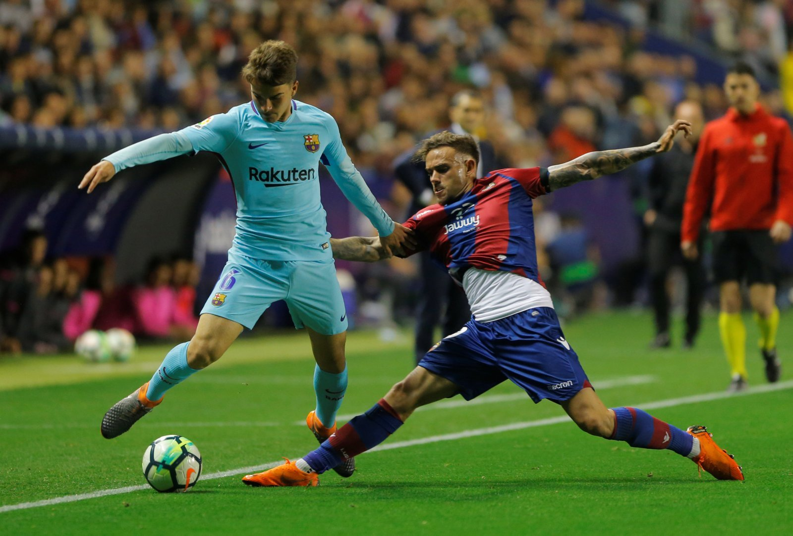 Sky Sports' Dharmesh Sheth hints that Denis Suarez to Arsenal has strong potential