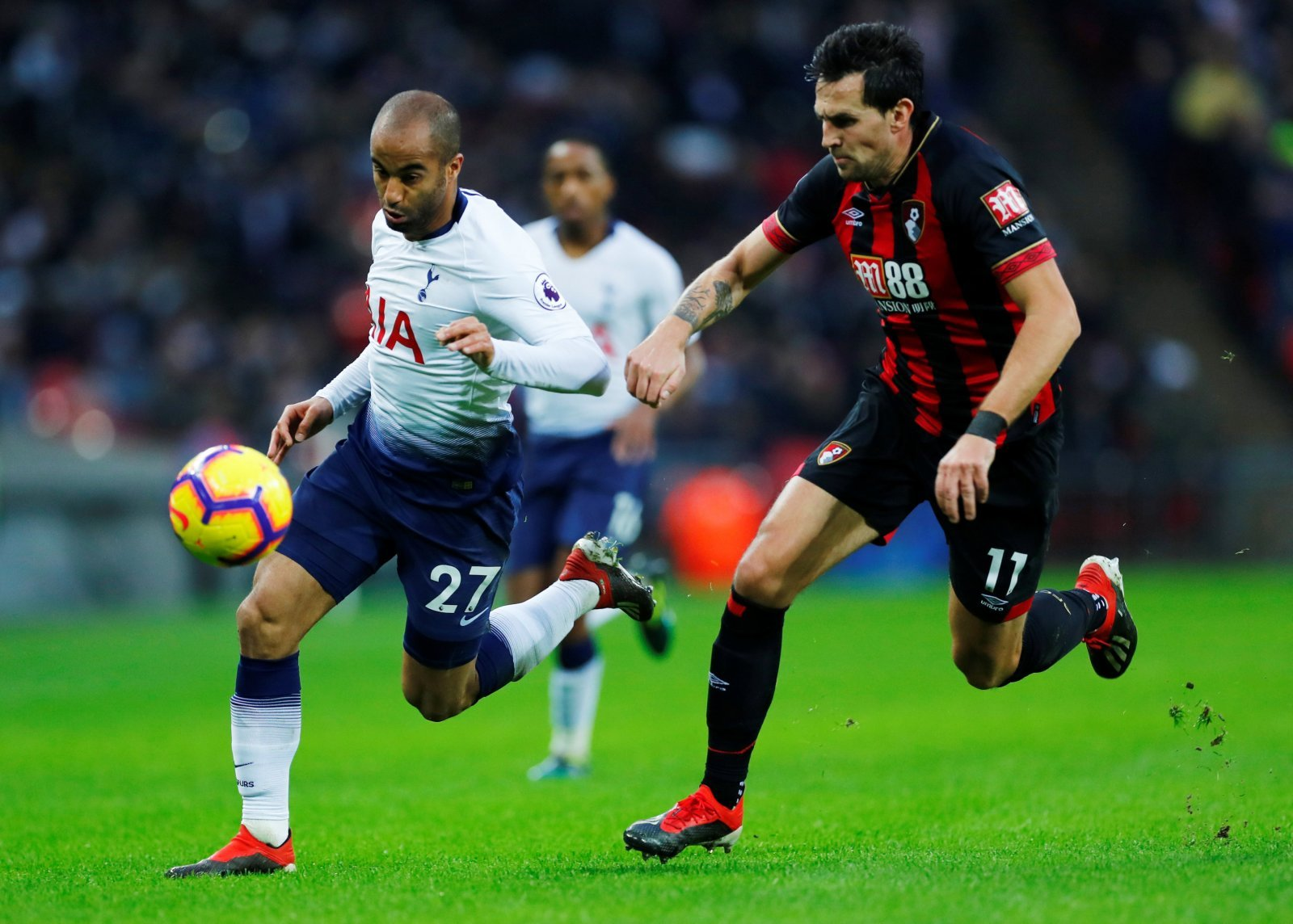 Opinion: New role for Lucas Moura could terrorise Jorginho at Stamford Bridge on Thursday
