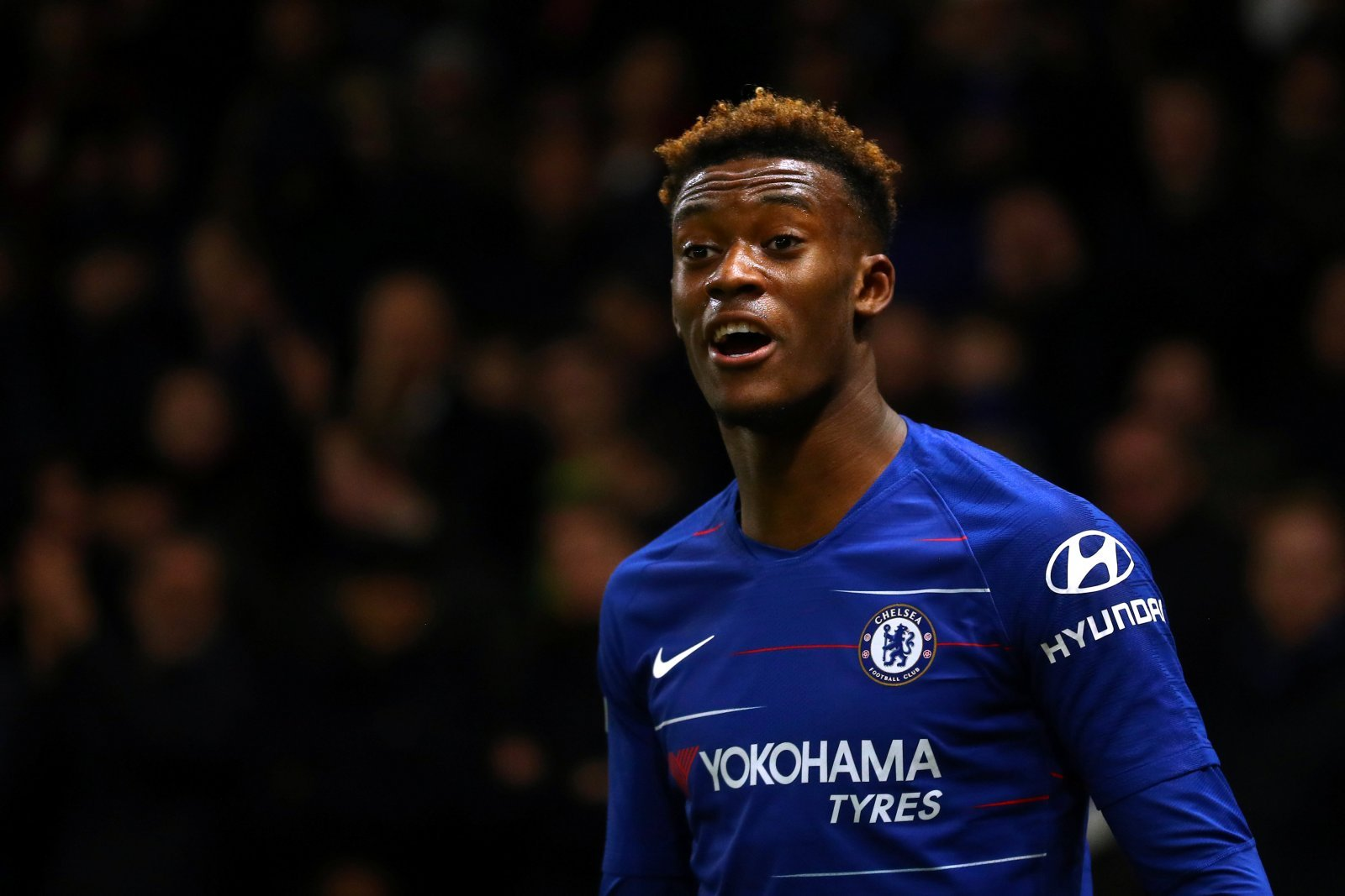Chelsea fans on Twitter were fuming as Hudson-Odoi missed City clash