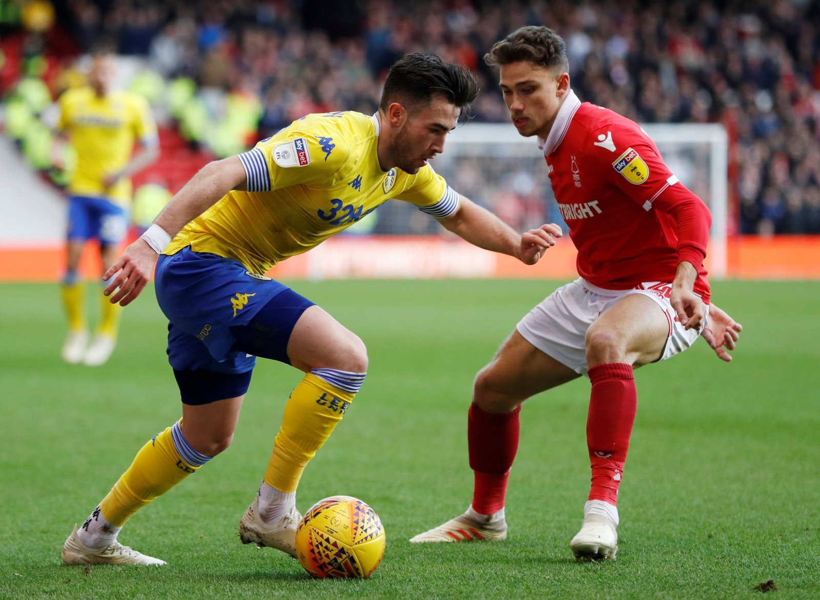 Phil Hay lauds Jack Harrison for display against Nottingham Forest