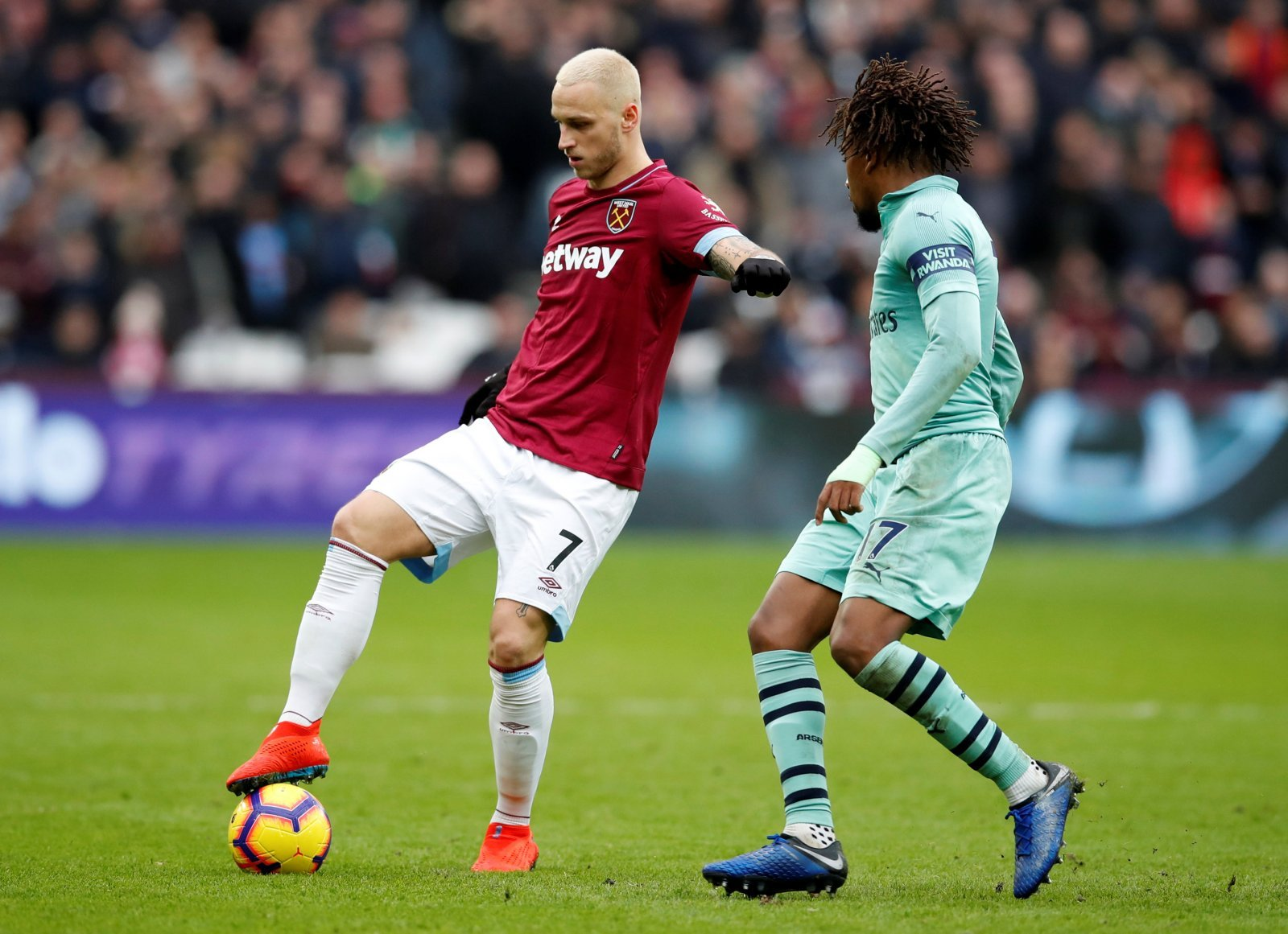 West Ham team news: Marko Arnautovic in contention to return against Crystal Palace