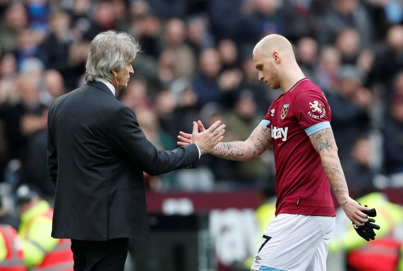 West Ham: Agreed to sell Marko Arnautovic for a 'terrible deal'