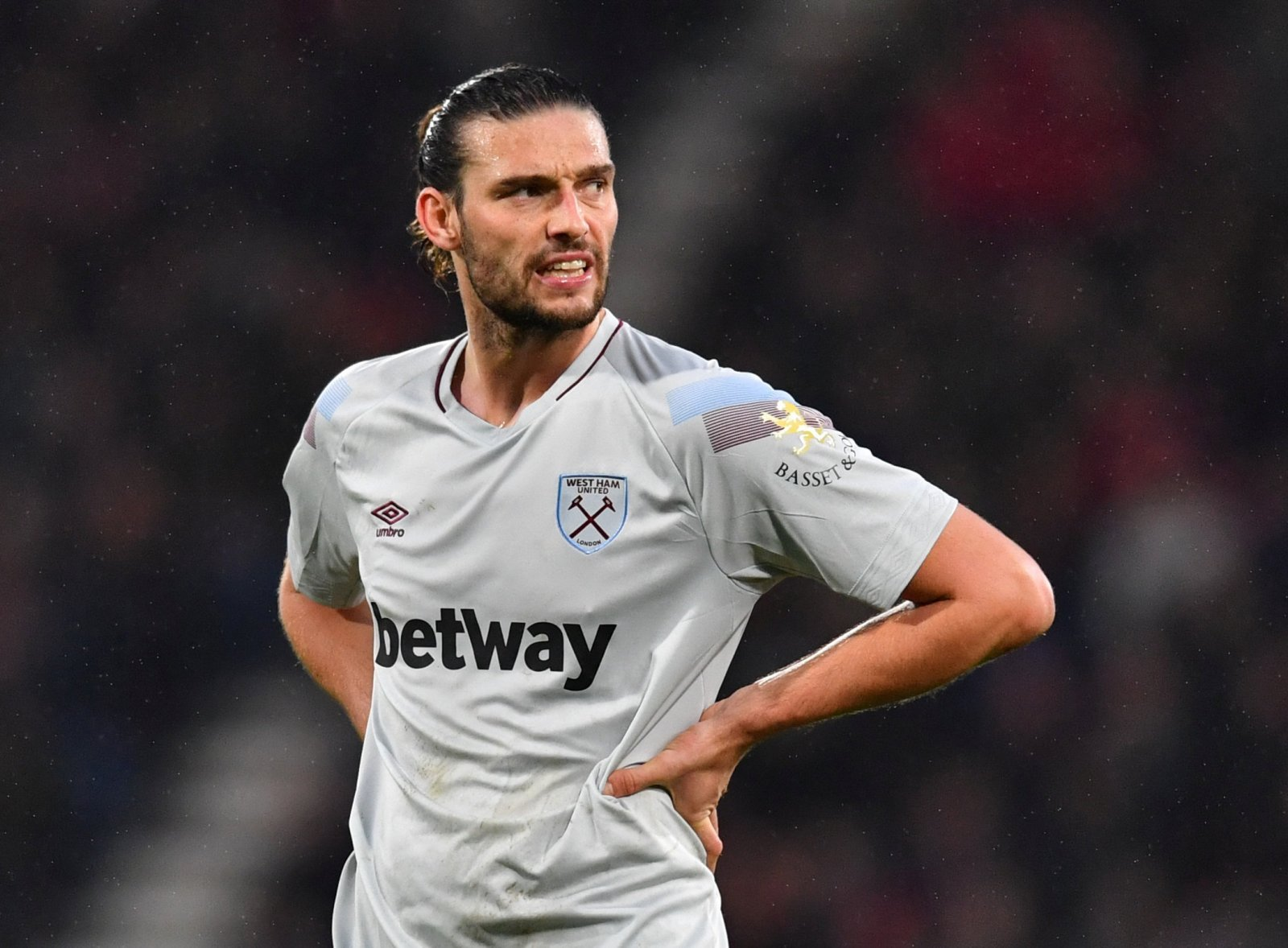 West Ham fans thank Andy Carroll as his contract comes to an end