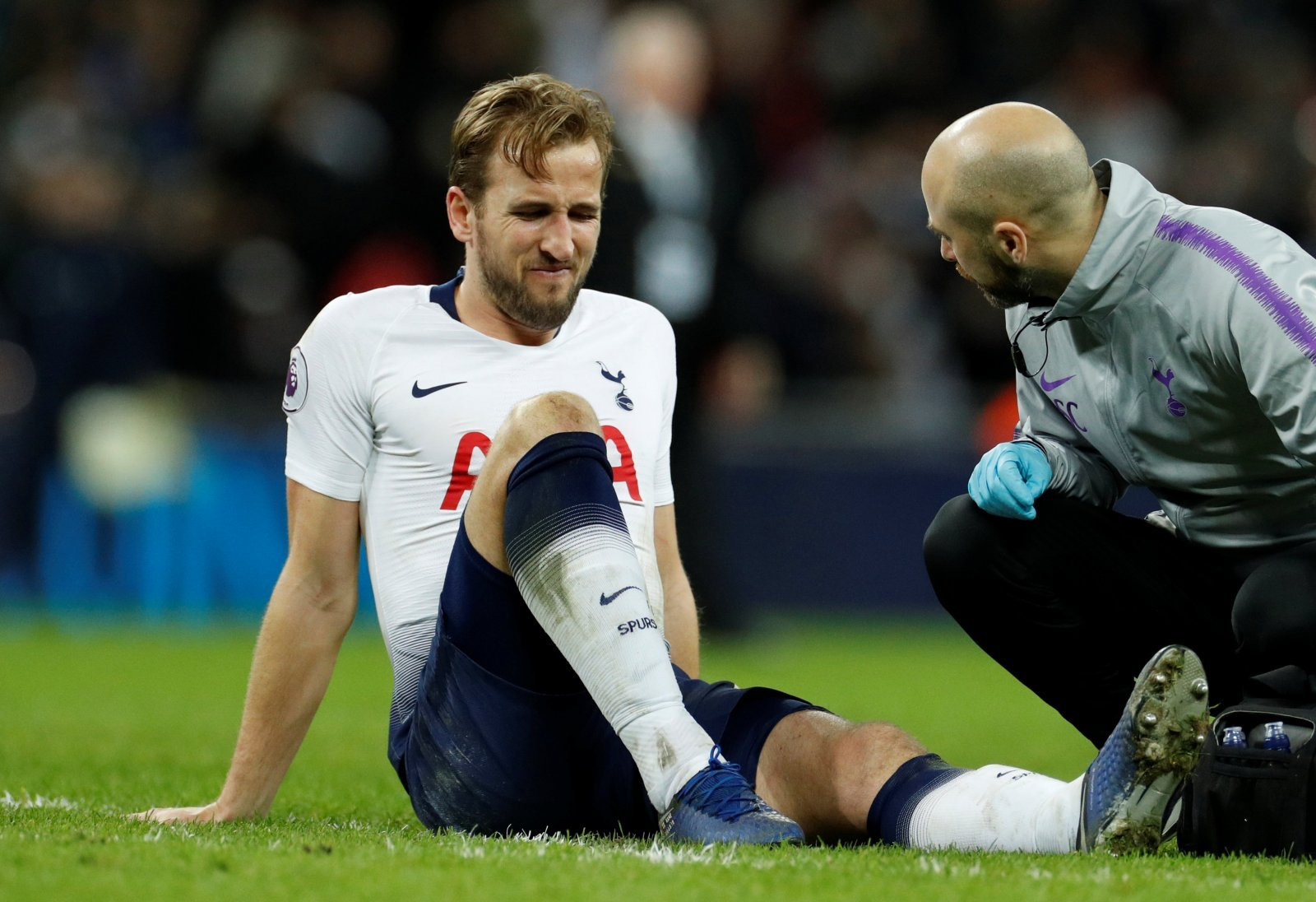 Tottenham fans take to Twitter to call for patience as Kane nears return