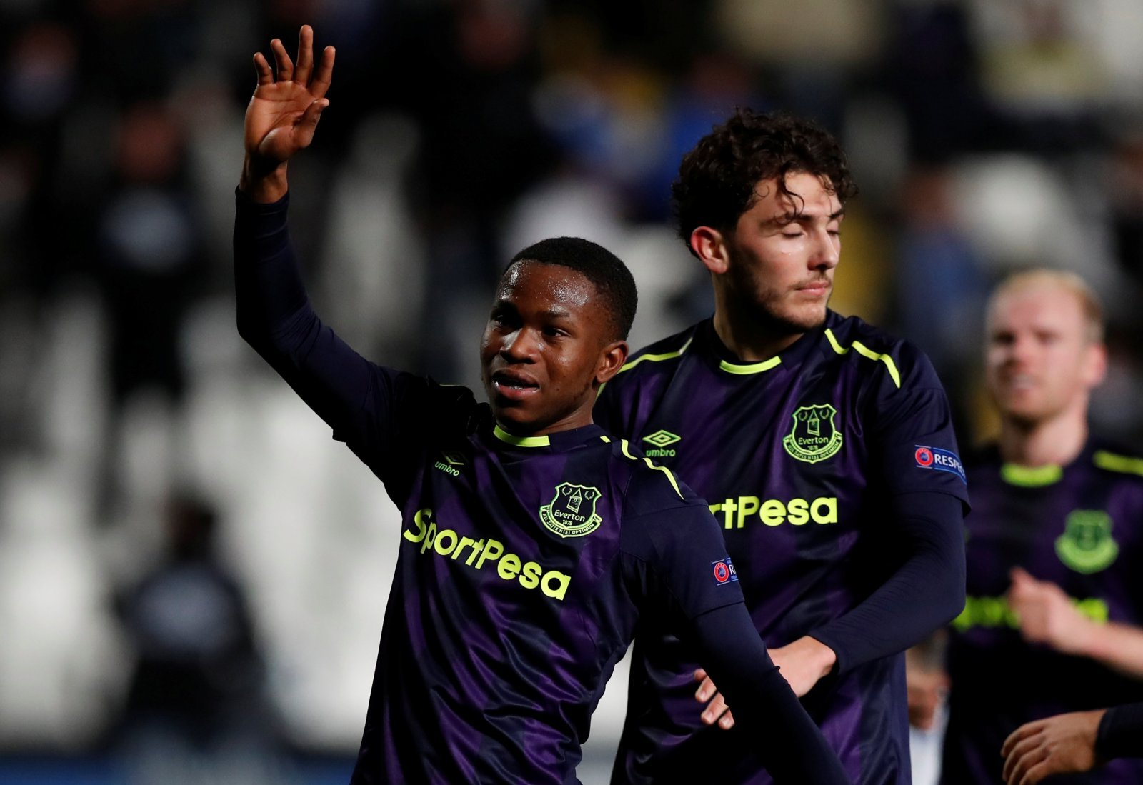 Everton will allow Fraser Hornby to leave on loan in the summer