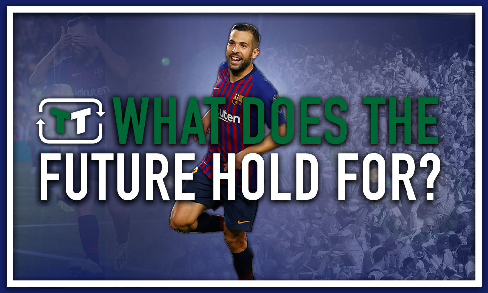 What does the future hold for Jordi Alba at Barcelona?