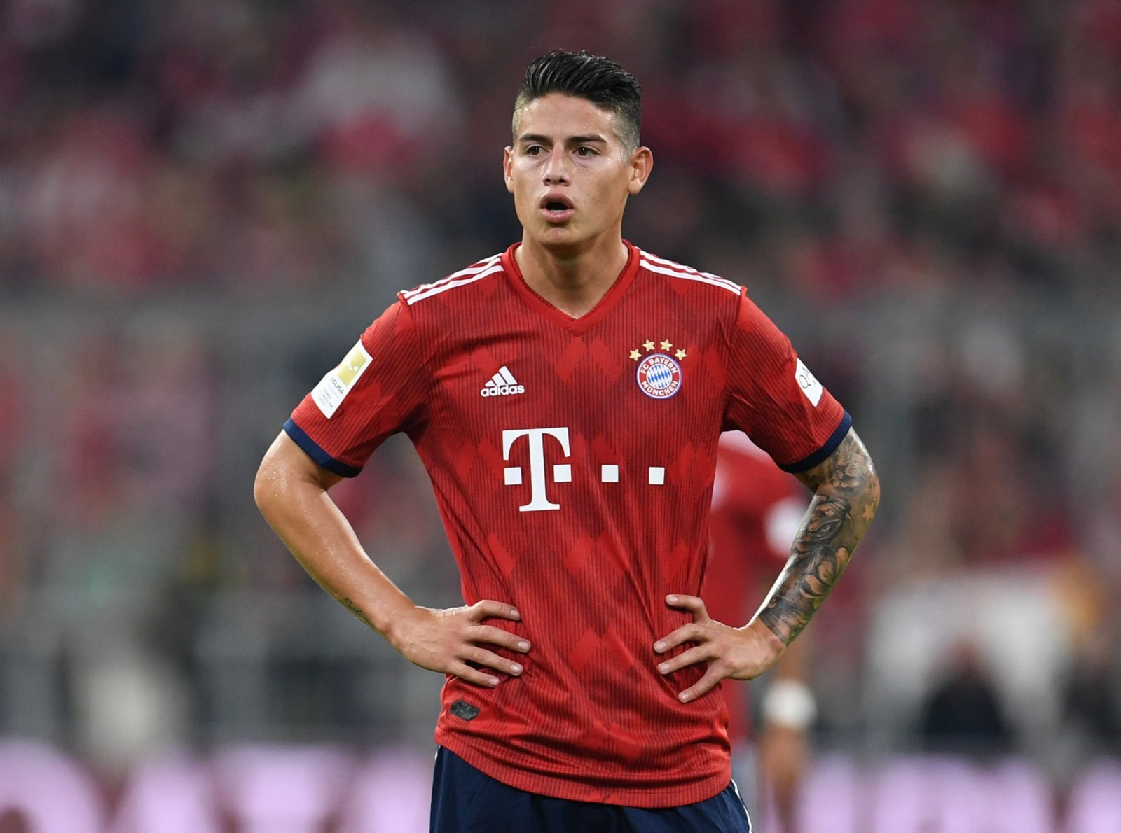 Liverpool interested in James Rodriguez