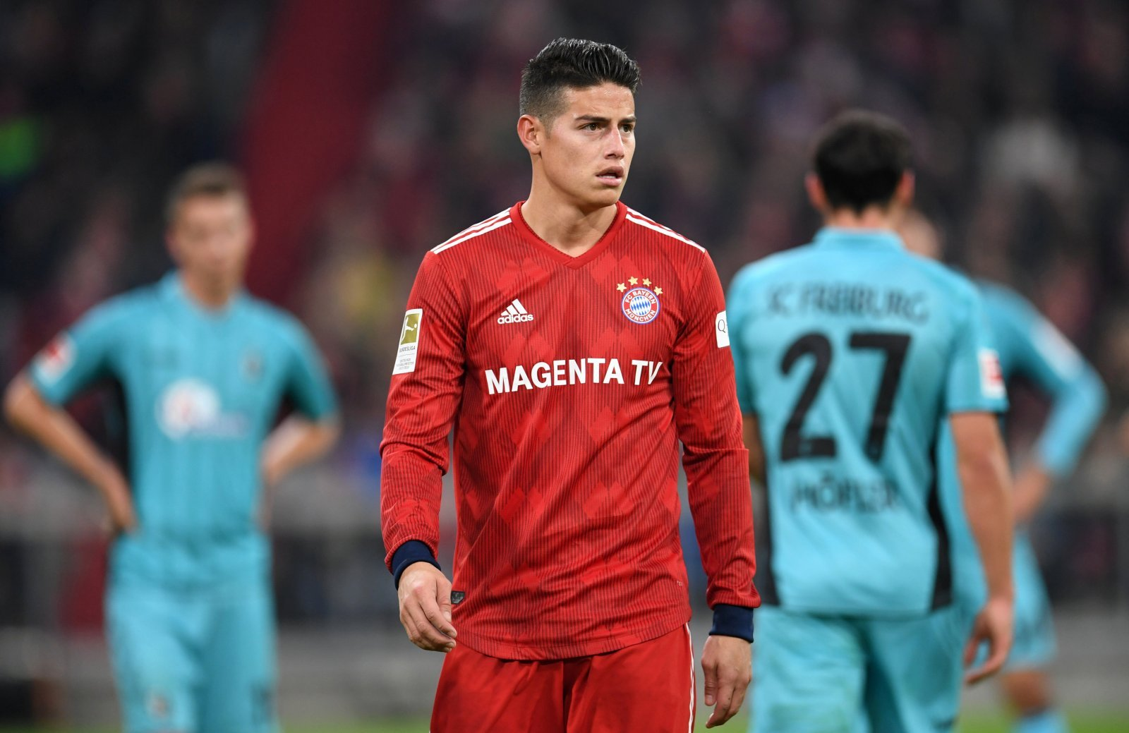 Liverpool deny interest in signing James Rodriguez