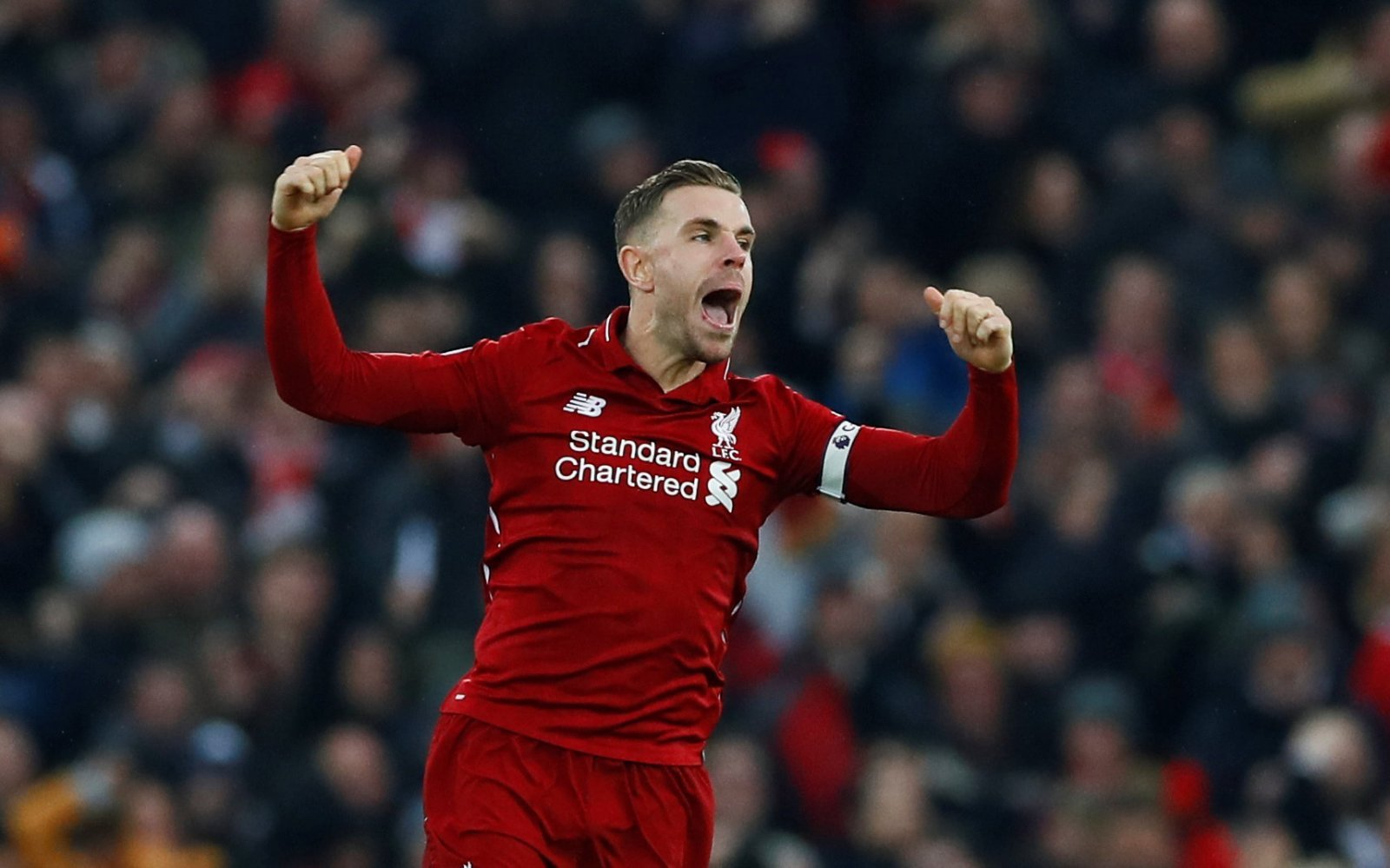 Liverpool fans on Twitter were delighted when Henderson succumbed to injury last night