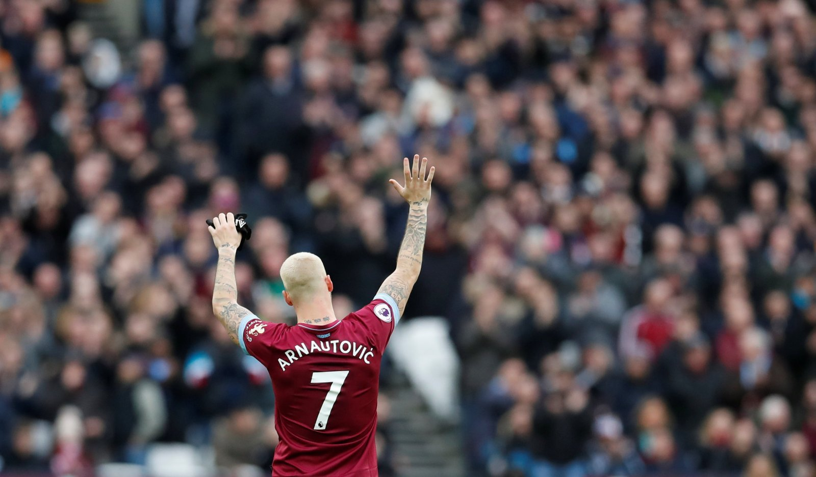 Harry Kane out: And West Ham's Marko Arnautovic is the man to replace him at Tottenham
