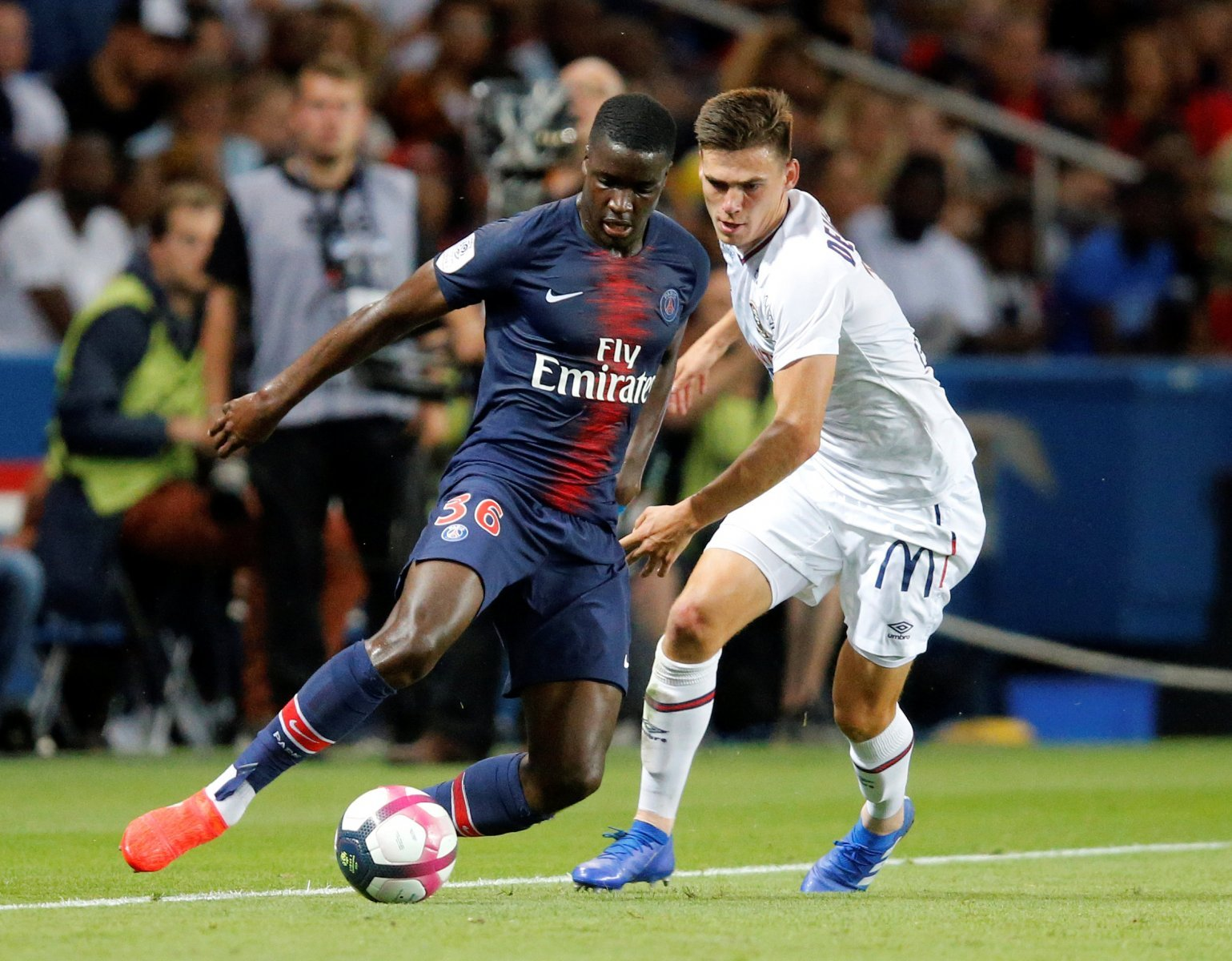 Newcastle handed setback in pursuit for PSG's Stanley N'Soki