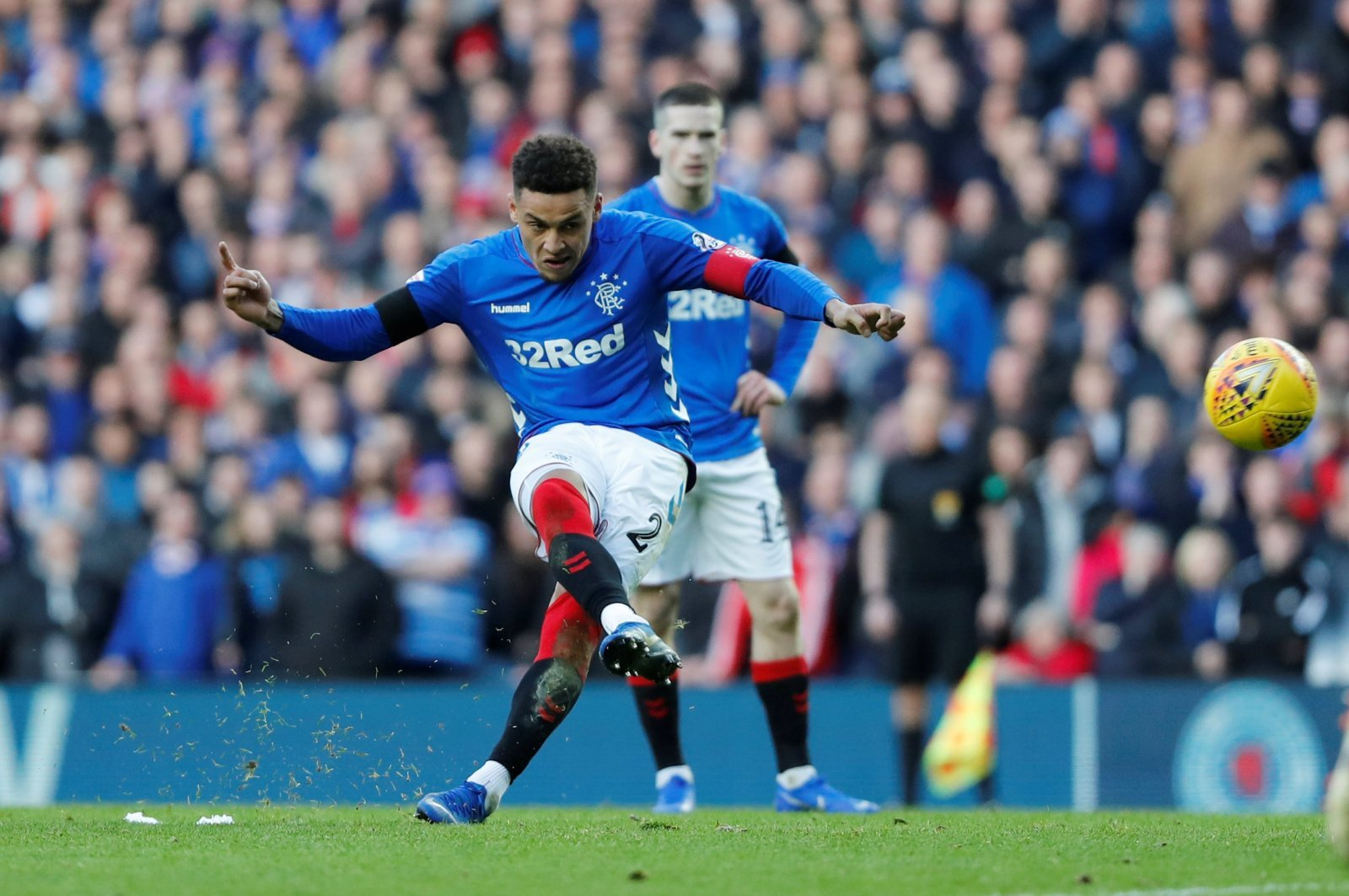 Rangers fans on Twitter were livid at their captain yesterday