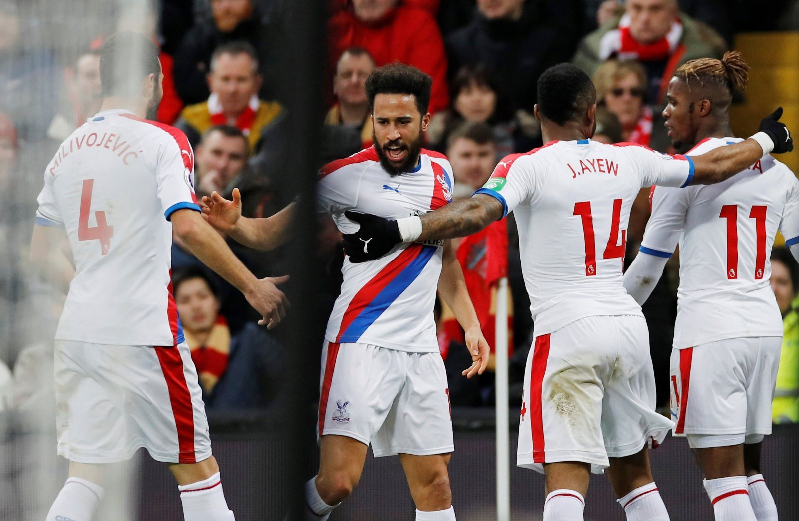 Palace fans on Twitter all called for Townsend as their man of the match yesterday