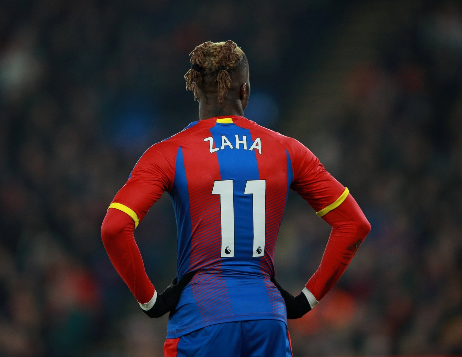 Crystal Palace fans take to Twitter to laud incredible WIlfried Zaha